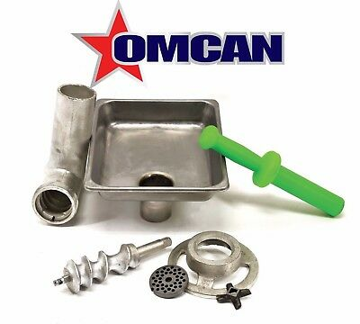 Omcan C812HCPL 10051 #12 Meat Grinder Attachment Fits #12 Hub For Hobart Mixers