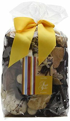 Scent of York sybbv Big Bag Pot Pourri vaniglia Pot Pourri Giallo 16 x 10 x 30 c