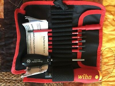 Wiha Insulated Tool Set Torquevario-S Vde 8 Piece Set Made In Germany