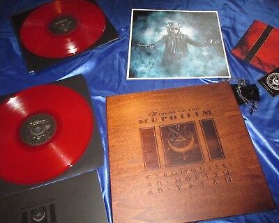 Fields Of The Nephilim - Ceremonies Wooden Box Set Ceremonial Edition Lp/cd/dvd