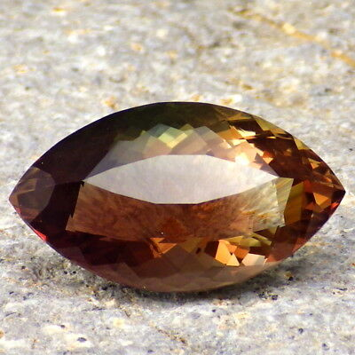 "ORANGE-RED-GREEN ""MYSTIQUE"" MULTICOLORED SCHILLER OREGON SUNSTONE 11.70Ct RARE!"