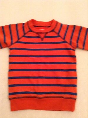 Mini Boden Boy's Striped Sweatshirt Age 3-4