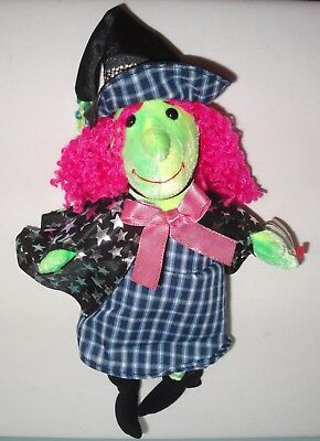 Ty Beanie Babies 2001 Scary the Witch Stuffed Plush w/ Tag