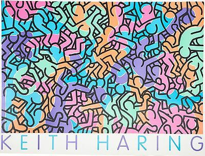 Keith Haring / Untitled (People Love Peace)/1985