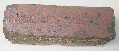 Brazil Clay Company Indiana red brick paver