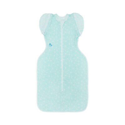 Love to Dream Swaddle UP 50/50 Bamboo Lite 0.2 TOG Aqua FREE SHIPPING