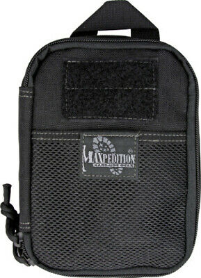 "Maxpedition Fatty Pocket Organizer Black Compact 5"" x 7"" x 2"" size Drops into or"