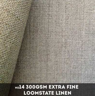 NEW Libeco Lagae #14 - 300gsm Extra Fine Loomstate Linen - 216cm x 50m