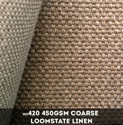 NEW Libeco Lagae #420 - 450gsm heavy Loomstate Linen - 216cm x 50m