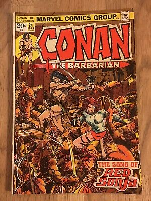 Conan the Barbarian #24 1st full app Red Sonja