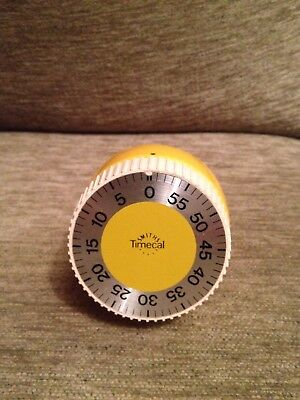 Vtg retro Smiths Timecal kitchen timer