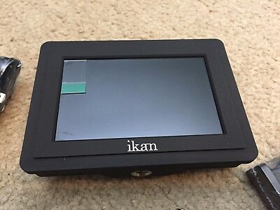 "Ikan VL35 3.5"" 4K HDMI On-Camera LCD Monitor w/ Sony & Panasonic Battery Plates"