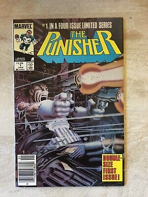 THE PUNISHER #1 1985 Limited Series Mike Zeck First Solo