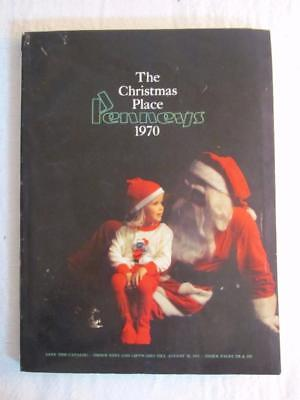 1970 JC Penneys The Christmas Place Catalog Toys - Clothes - Accessories & More