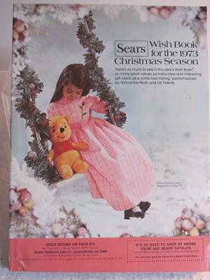 1973 Sears Christmas Catalog Wish Book Toys - Clothes - Accessories & More