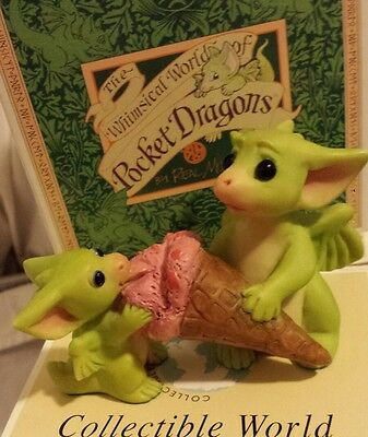 Pocket Dragon *MIB* - Learning to Share -  2004