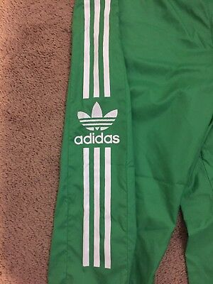 Rare Vintage Adidas Track Pants 90s 80s Grey Tag Great Condition Size L