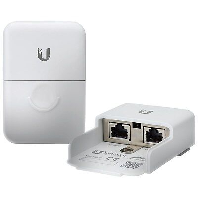 Ubiquiti Networks ETH SP Poe External Surge Suppressor & Play Installation New
