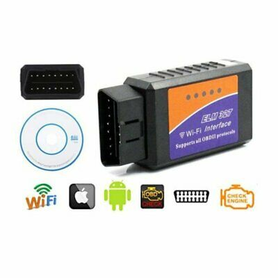 MINI ELM327 OBD2 OBDII AUTO WIFI Diagnostic Interface Scanner For Android IOS CA