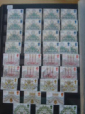 GB Stamps a large collection of Elizabeth Commemoratives 1980 to 1982
