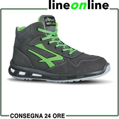 Scarpe da lavoro U Power RedLion Hummer S3 SRC UPower alte in pelle impermeabile