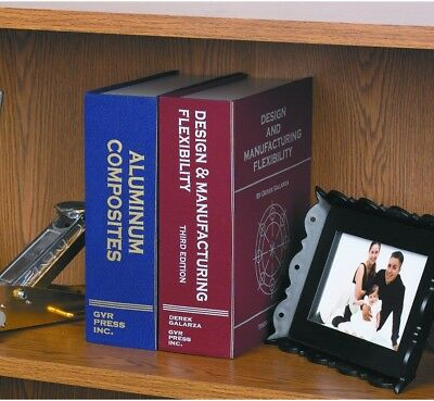 Large Steel Book Safe Important Documents Conceal Protect Combo Lock Office Dens
