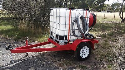 Fire Ready Trailers 1000ltr Fire Fighting Trailer with Davey Honda Pump