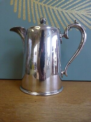 Vintage antique silver plated coffee pot Walker and Hall