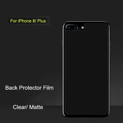 Anti-Glare Matte/ Clear Screen Protector Back Guard Film For iPhone 8/ Plus Lot