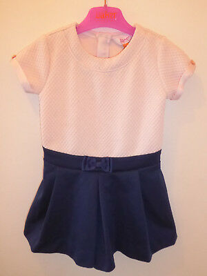 TED BAKER Gorgeous Baby Girls DESIGNER Playsuit Top & Shorts Outfit 2-3 Years