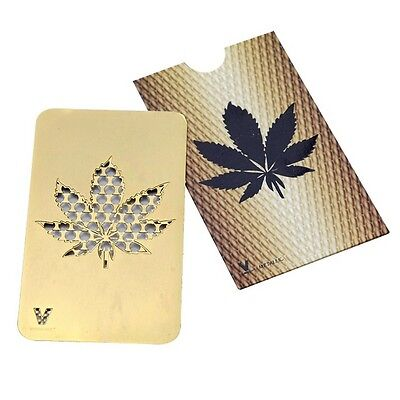 Grinder Karte The V Syndicate (Leaf Gold)