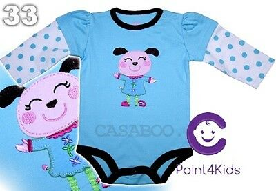 The Best for baby 100% Cotton Baby Bodysuit  6 - 24m