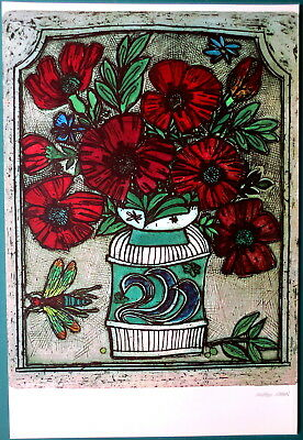 """Cohen Alfred  """"DIANA`S FLOWERS"""", signiert"""