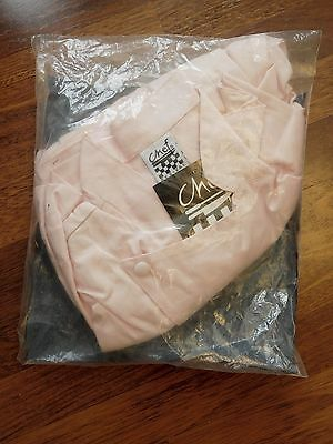 NEW! Womens Chef Revival Jacket - Sz. XL (16-18) NIP - Pastel Pink