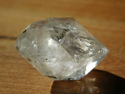 PENDANT STONE Herkimer Diamond Quartz Crystal, CRYSTAL SALE, with FREE SHIPPING!