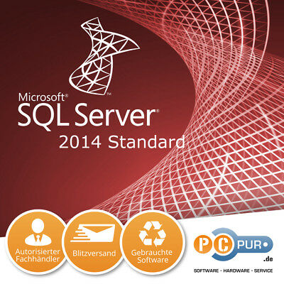 Microsoft MS SQL Server 2014 Standard 1CPU Original