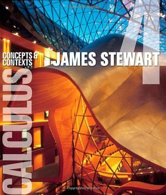 Calculus: Concepts and Contexts (James Stewart) | Brooks/Cole
