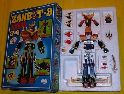 ZAMBOT ZANBOT 3 in1 JUNIOR METAL ROBOT CLOVER CEPPIRATTI 70EXCL.ITAL BOX SUNRISE