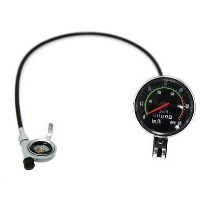SPEEDOMETER FOR 26 OR 27 INCH TIRE COOL RETRO BIKE 80CC MOTORIZED BIKE KH