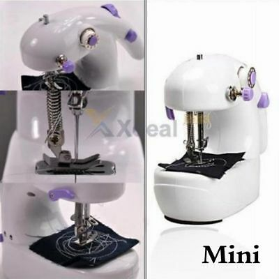Portable Mini Handheld Electric Sewing Machine Desktop Home Household Sewing