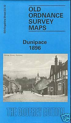 Old Ordinance Survey Map Dunipace 1896