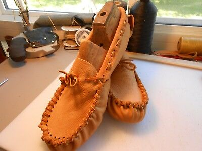 Scout Moccasins Native American (Bison Hide Soles Available)
