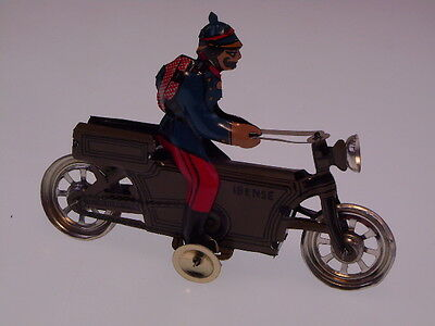 "GSPKW NEW PENNY TOYS  ""POLICE/MILITARY CYCLE"" PAYA SPAIN, 10 cm,  NEW/NEU/NEUF !"