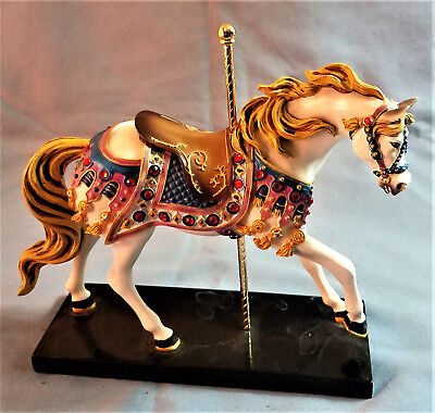 Trail of Painted Ponies BEDAZZLED Horse Figurine 3 Edition J.E. Speight