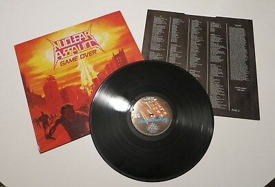 NUCLEAR ASSAULT -Game Over- Vinyl Thrash/Speed Metal