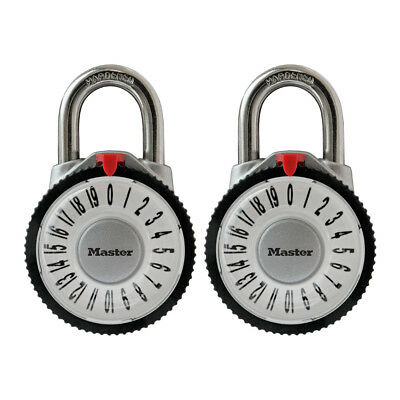 Master Lock Magnified Combination Lock Twin Pack 1588T