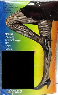 Carnevale Halloween Calze Collant Rete Nere Cosplay Fishnet Pantyhose