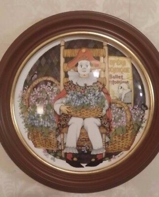 """Royal Doulton - """"Behind The Painted Masque"""" - Collector Plate"""