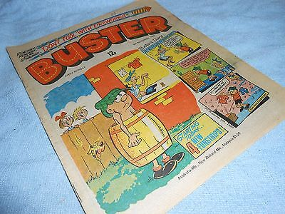 Vintage CLASSIC UK COMIC - BUSTER - 8th November 1980