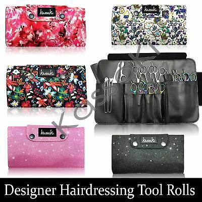 Designer Hairdressing Scissor Case Pouch Storage Haircutting Shears Combs Razors